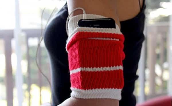 diy phone armband
