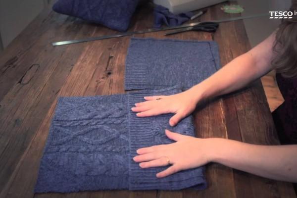 cushion cover jumper
