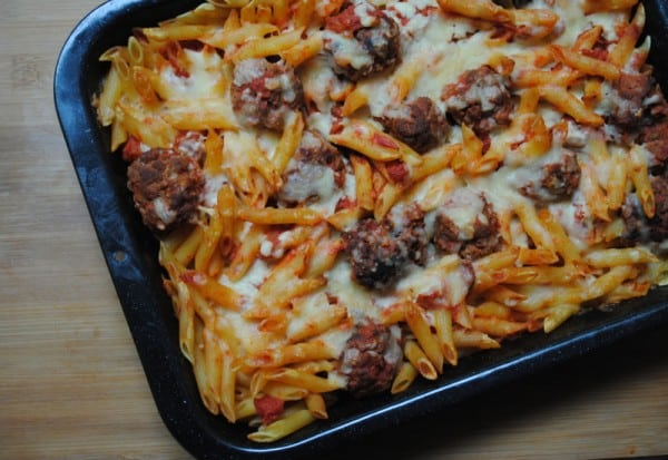Chicken pasta bake recipes uk