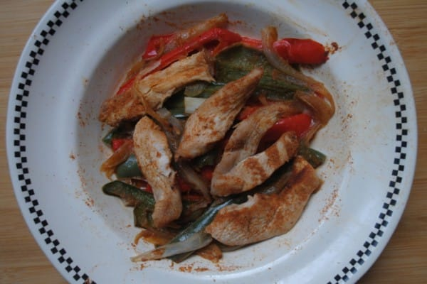 microwave chicken fajitas recipe