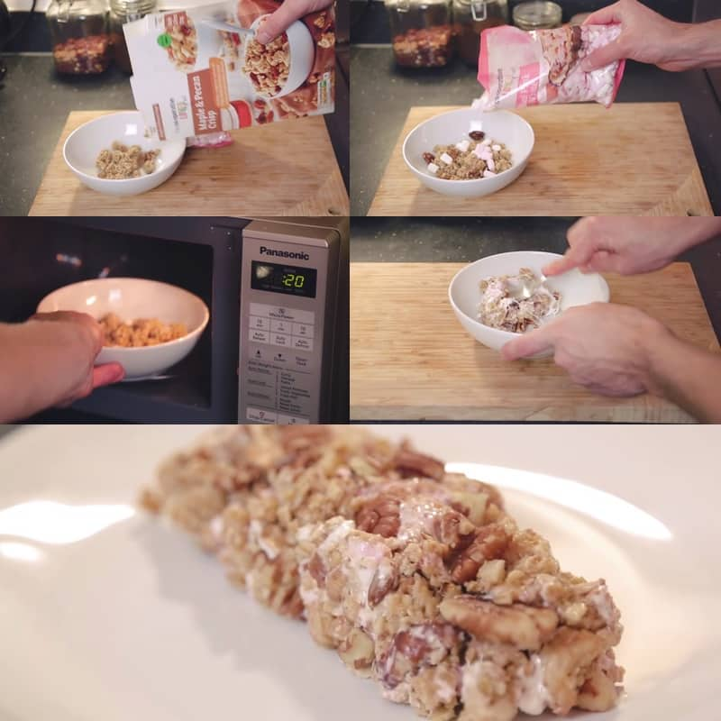 cereal bar hack