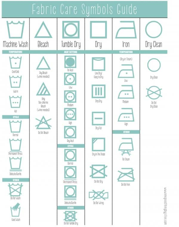 Laundry-symbols-icon-guide