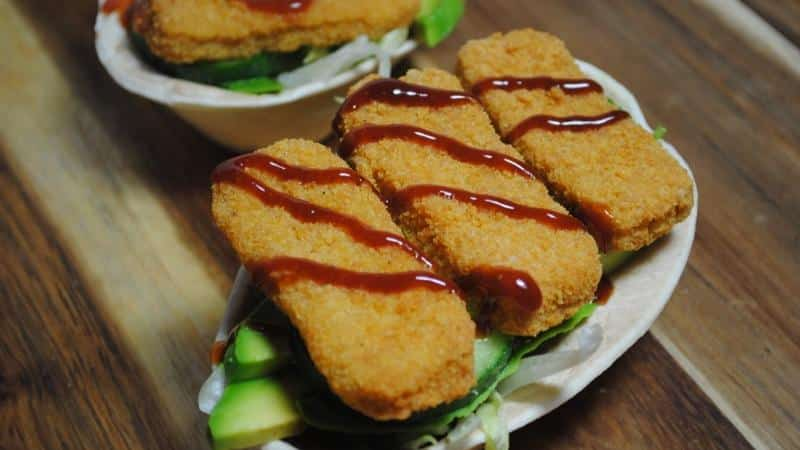 Fish Finger Taco Boats