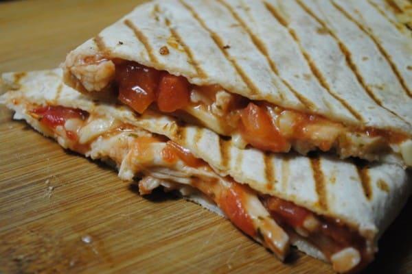 salsa chicken Quesadilla recipe  - 1