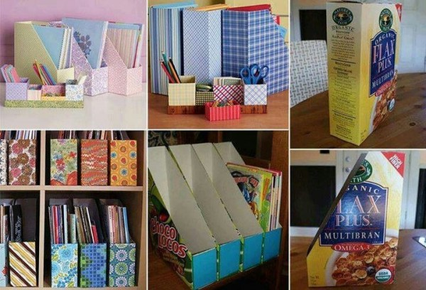 cereal box organizer