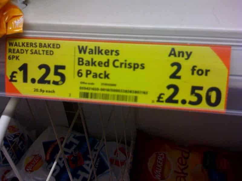 Supermarket-offer